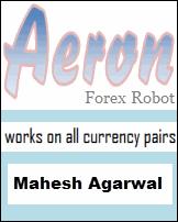 Aeron forex robot by Mahesh Agarwal