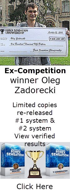 Forex Sensation EA Robot Winner