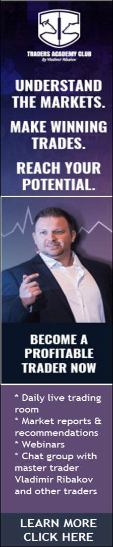 Master Trader Vladimir Ribakov's Traders Academy Club will teach you how to trade  the markets profitably