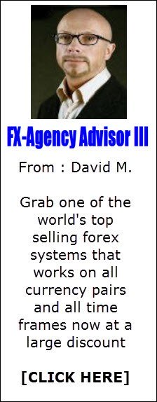 FX Agency Advisor 3 software provides optimal entry, profit target and stop loss recommendations for any currency pair and any time frame