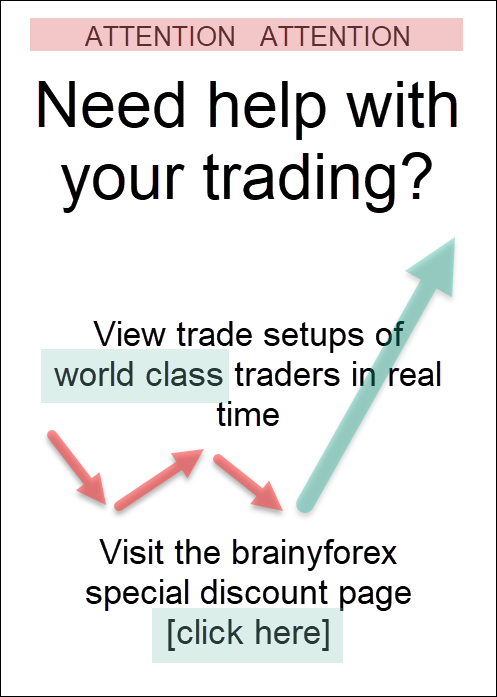 World class traders share their trading setups. Discount coupons available on this brainyforex page - click here.