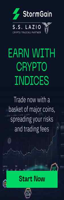 Earn with Crypto Indices - Stormgain