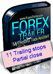 Trailing stop software called Forex Trailer