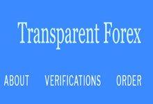 Trading Method: Transparent Forex V1